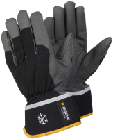 1 Pair Size 10 XL Tegera Pro 9112 Microthan Winter Lined Thermal Leather Gloves Water Repellent