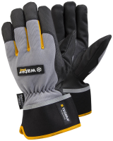 1 Pair Size 10 XL Tegera Pro 9113 Microthan Synthetic Leather Winter Lined Gloves Waterproof