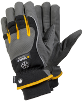 1 Pair Size 10 XL Tegera Pro 9126 Microthan Synthetic Leather Winter Lined Gloves Wind Waterproof