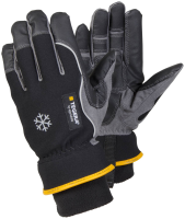 1 Pair Size 10 XL Tegera Pro 9232 Macrothan Synthetic Leather Winter Lined Gloves Windproof Back