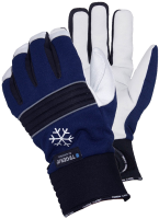 1 Pair Size 10 XL Tegera 297 3M Thinsulate 100g Winter Lined Waterproof Leather Gloves Velcro Fastening