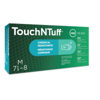 500 Ansell 92-600 TouchNTuff Nitrile Disposable Gloves Large
