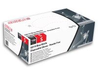 500 (5 Boxes) Shield 2 GD19 Blue Nitrile Disposable Gloves Small