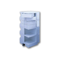 Labmobile 4 Tier with 4/5/6 Drawers