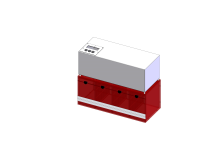 Warm Air System-Safety Cabinet Version-Red