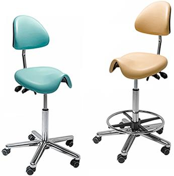 Low Strut  Medi Dental Saddle Chairs