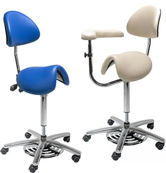 High Quality Soft Anti-static Dental Saddle Chairs