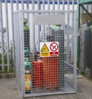 Gas Cylinder Cage Hire