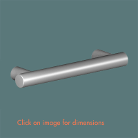 T Bar Handle 16mm Diameter 300mm Long