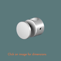 R.15(12) Panel Support Satin Polished Stainless Steel