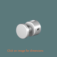 R.15(6) Panel Support Satin Polished Stainless Steel
