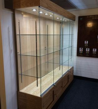 Very strong Bespoke Trophy Cabinets