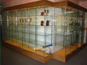 Very large Glass Cabinets