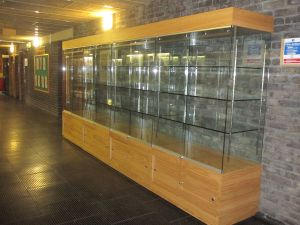 Quality Trophy Cabinet from ARMY - Blandford Garrison
