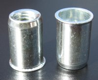 Value rivet nuts - stainless steel round