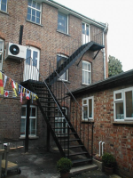 New Metal Staircase Steps