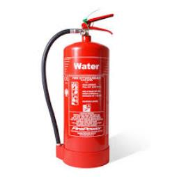 Red Water Type Fire Extinguishers