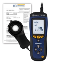 Lux / Light Data Logger incl. ISO Calibration Certificate PCE-174-ICA