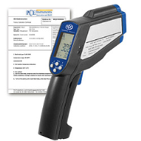 Infrared Temperature Gun Meter with ISO Calibration Certificate PCE