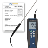 Data Logger incl. ISO Calibration Certificate PCE-HPT 1-ICA