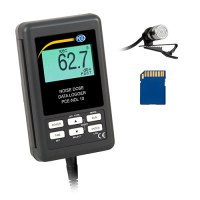 Data Logging Sound Level Meter PCE-NDL 10