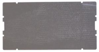 NON-SLIP GREY MAT FOR EASY ACCESS - SET OF 4