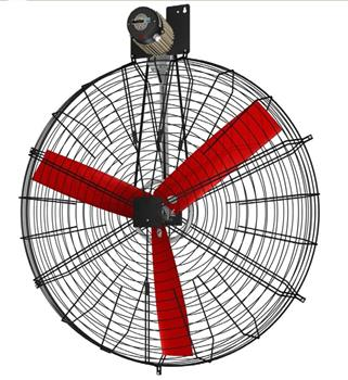 K4D130-3PP-55 48000m3/hr Basket Fan