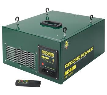 Record AC400 680m3/hr industrial air cleaner