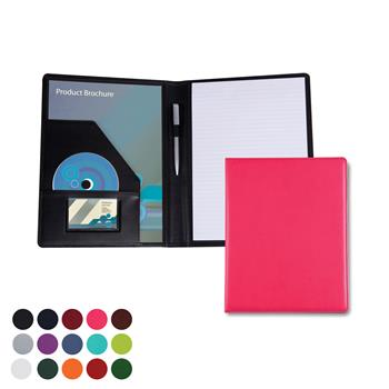 Coloured PU Folders for  Conferences and events