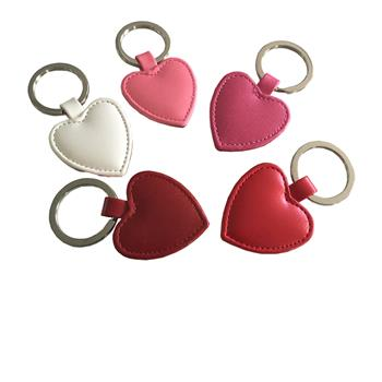 Key Fobs, Key Rings and Luggage Tags Heart Shaped