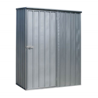 Galvanized Steel Shed 1.5 x 0.8 x 1.9mtr