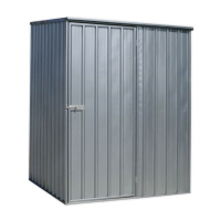 Galvanized Steel Shed 1.5 x 1.5 x 1.9mtr