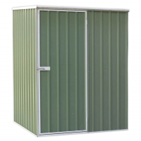Galvanized Steel Shed Green 1.5x1.5x1.9m