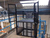 Handloaded Mezzanine Goods Lift