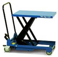 SC-150-S-M Single Scissor Tables with Fold Down Handle