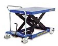 SC-1000-S-M Heavy Duty Premium Single Manual Mobile Scissor Tables