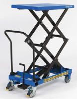 SC-125-D-M Double Manual Mobile Scissor Lift Table