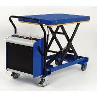 SC-1000-S-E Heavy Duty Premium Single Electric Mobile Scissor Table