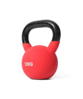 12Kg Coloured Neoprene Covered Kettlebell