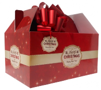 Giant Gable Box GIFT KIT - (35x24x18cm) MERRY CHRISTMAS