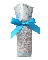 CANDY BAGS (pk 10) with Block Bottom and Twist Ties - LITTLE BOY (small)
