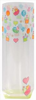 CANDY BAG (pk 10) with Block Bottom 100mm x 220mm - FUNKY CHICKEN