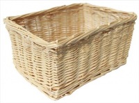 Natural Wicker Storage Basket - 24x18x12cm (Discontinued)