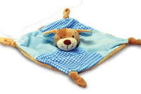 BABYS FIRST KNOTTED COMFORTER by Keel Toys - BLUE (Discontinued)