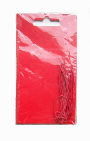 Pack 10 Gift Tags with Ties - RED