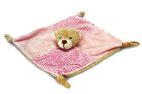 BABYS FIRST KNOTTED COMFORTER by Keel Toys - PINK (Discontinued)