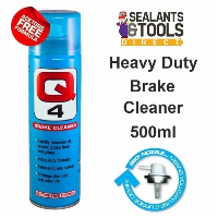 Q Oil Q4 Heavy Duty Brake and Clutch Cleaner 500ml