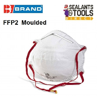 B Brand P2 Cup Shaped Disposable Dust and Aerosol Safety Face Mask FFP2