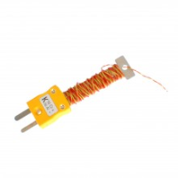 Cable Wire Tidy Thermocouple With Fitted Miniature Ansi Plug