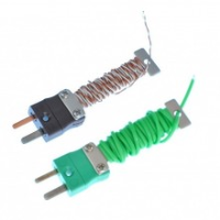 Cable Wire Tidy Thermocouple With Fitted Miniature Iec Plug 2617